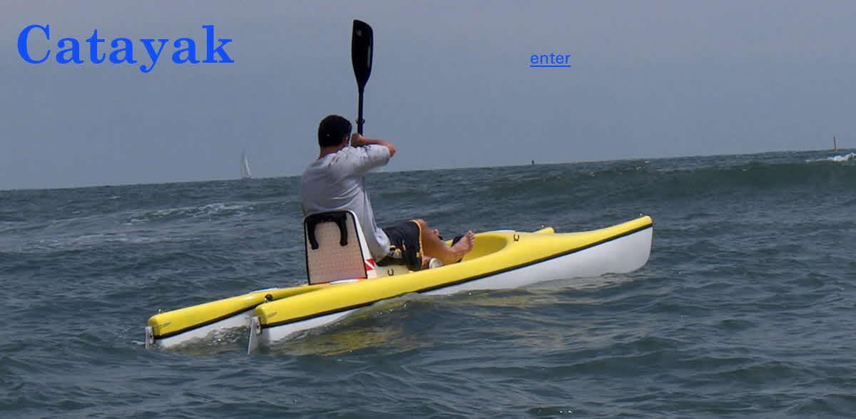 Dual Hull Kayak